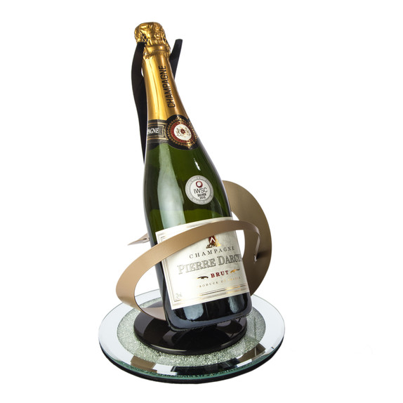 Champagne Bottle Product Photography