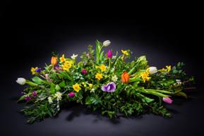 florist wreath product pack shot
