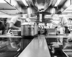Roux at Parliament Square Commercial Kitchen Photoshoot