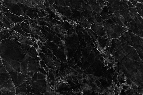 120. White Veined Black Marble - A1 Vinyl Photo Backdrop