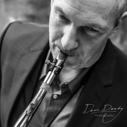 Male Sax Player