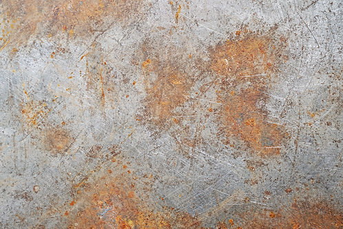 116. Scratched and Rusted Worktop - A1 Vinyl Photo Backdrop