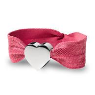 Stretch Bracelet-cerisse silver heart product pack shot