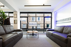 waiting room commercial photography