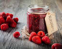 Raspberry Jam Food Photograph
