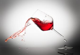 Wine Glass Splash Image