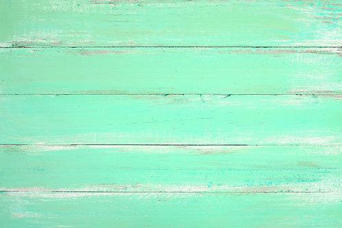 107. Mint Paint Farmhouse Table - A1 Vinyl Photo Backdrop