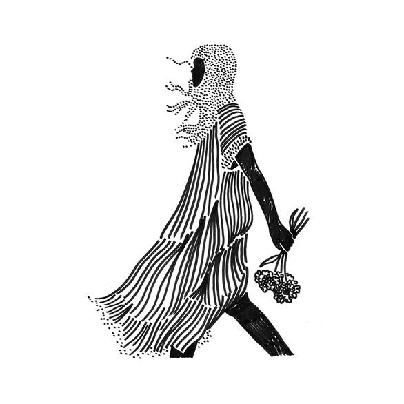 "Illustration ""Pattern girls 1"""