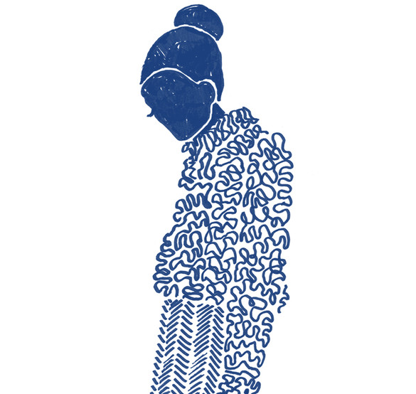 "Illustration ""Pattern girl 3"""