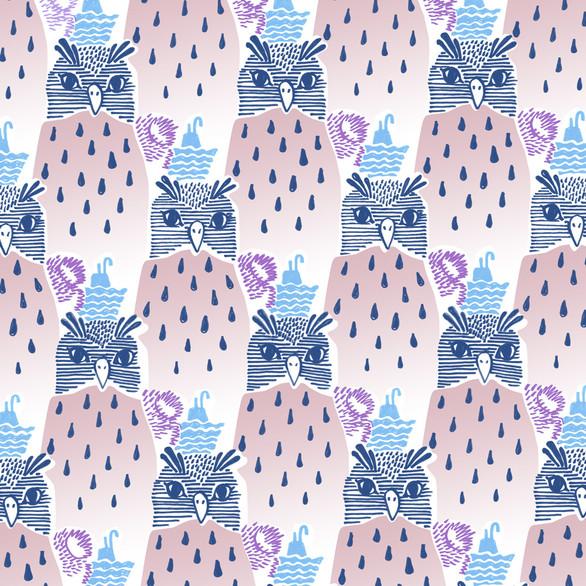 """Pattern """"O as in Owl"""""""