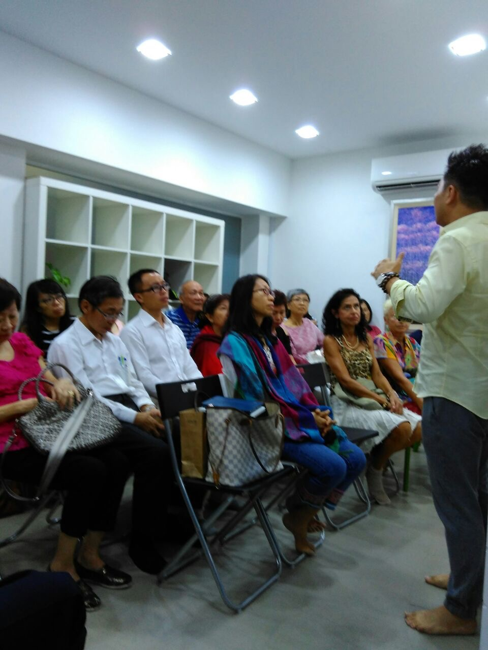John Wong's Miracles & Healing Talk