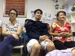 Audiences at Sound Healing