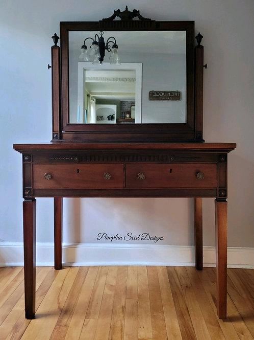 1920s Mahogany Dressing Table
