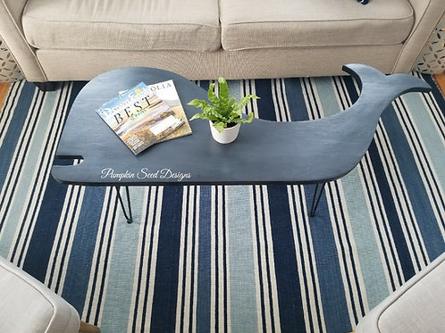 Modern Whale Coffee Table