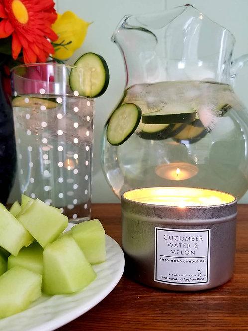 Cucumber Water & Melon