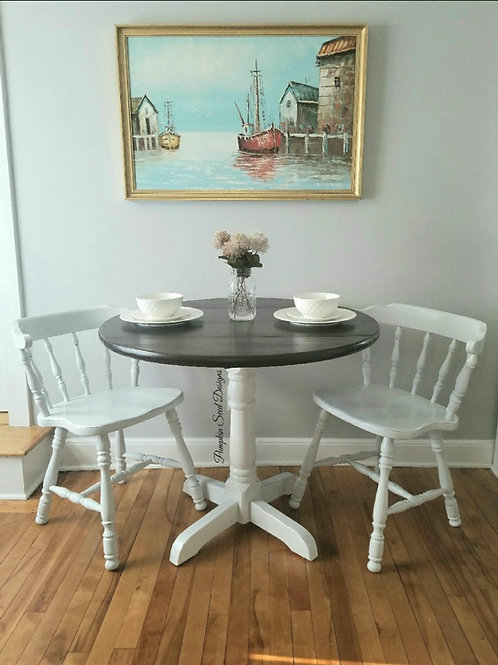 3 Piece Drop-Leaf Dining Set
