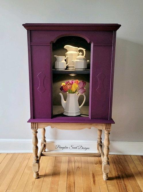 Violet Display (Radio) Cabinet