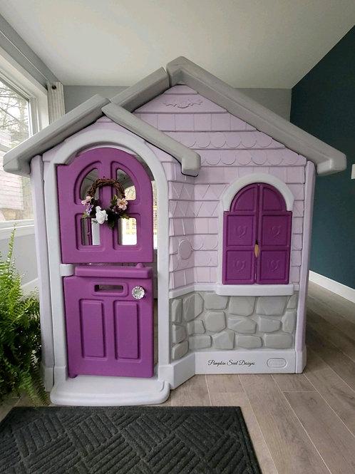 Victorian Violets Indoor Playhouse