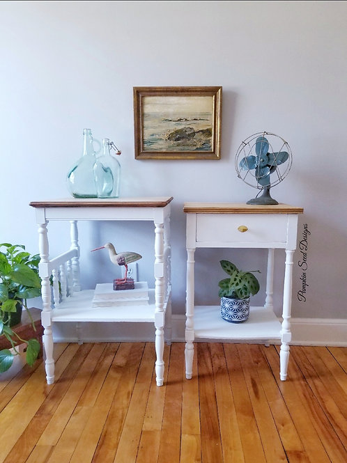 Betty Nightstand/Side Table Pair