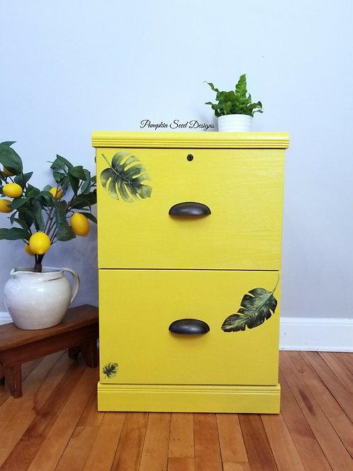 Boho 2 Drawer File Cabinet