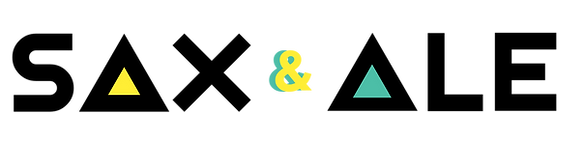 Sax and Ale LOGO nero LINE.png