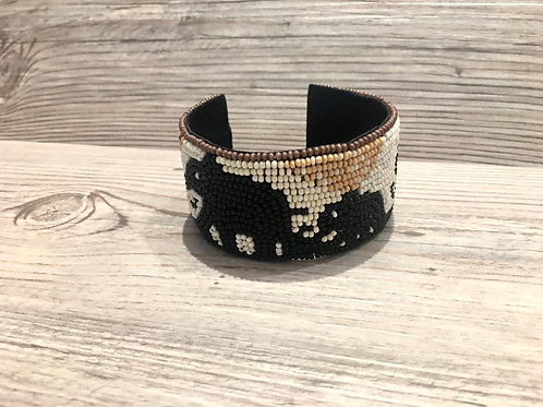 Elephant Seedbead Cuff