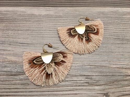 Feather Tassel Earring