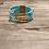 Thumbnail: Blue Sparkle Magnetic Bracelet