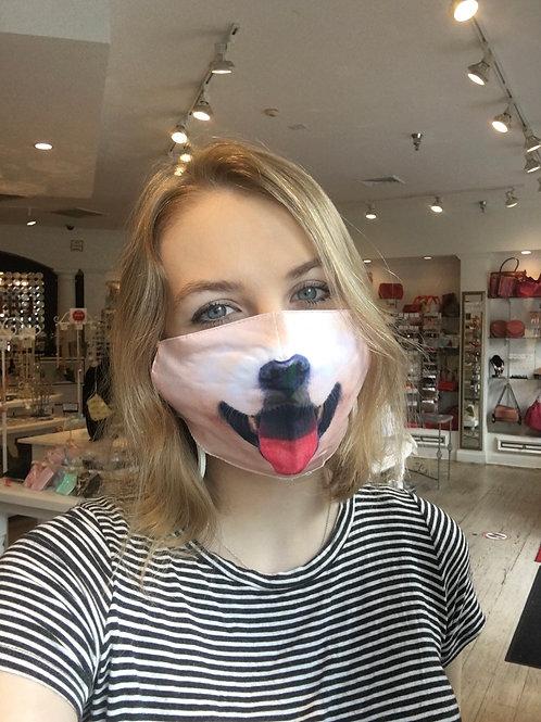 Smiling Dog Mask