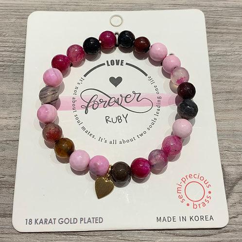 """""""Love Forever"""" Inspiration Bracelet"""
