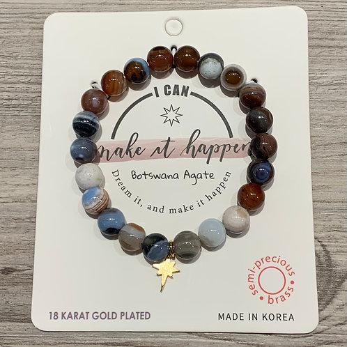 """""""I can make it happen"""" Inspiration Bracelet"""