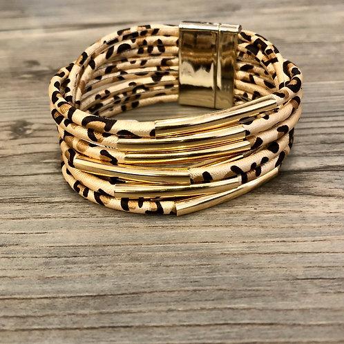 Cheetah Magnetic Bracelet