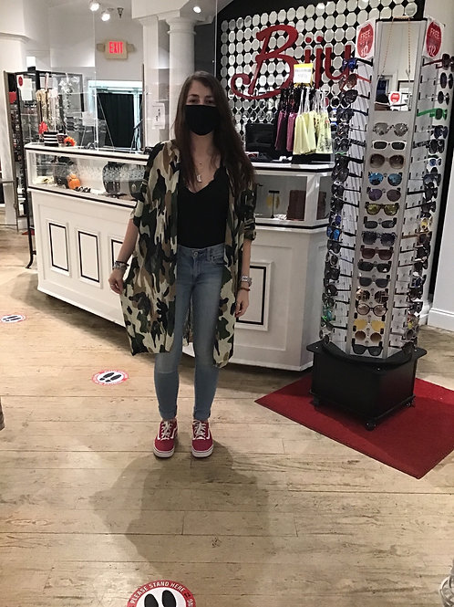 Camo Kimono