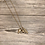 Thumbnail: Steer Arrowhead Feather necklace
