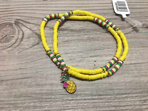 Pineapple 2-piece Bracelet