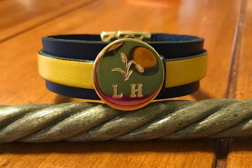 LH Leather Bracelet