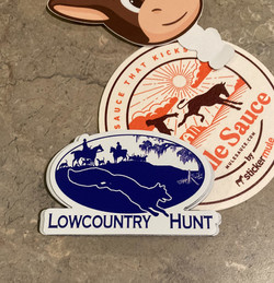 Lowcountry Hunt Logo Magnet