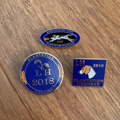 2018-19-20 Hunt Weekend Pins