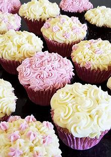 White Chocolate Mud Cupcakes