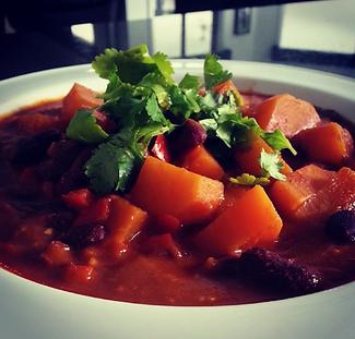 Sweet Potato & Kidney Bean Stew