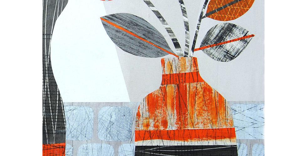 Orange Vase Print