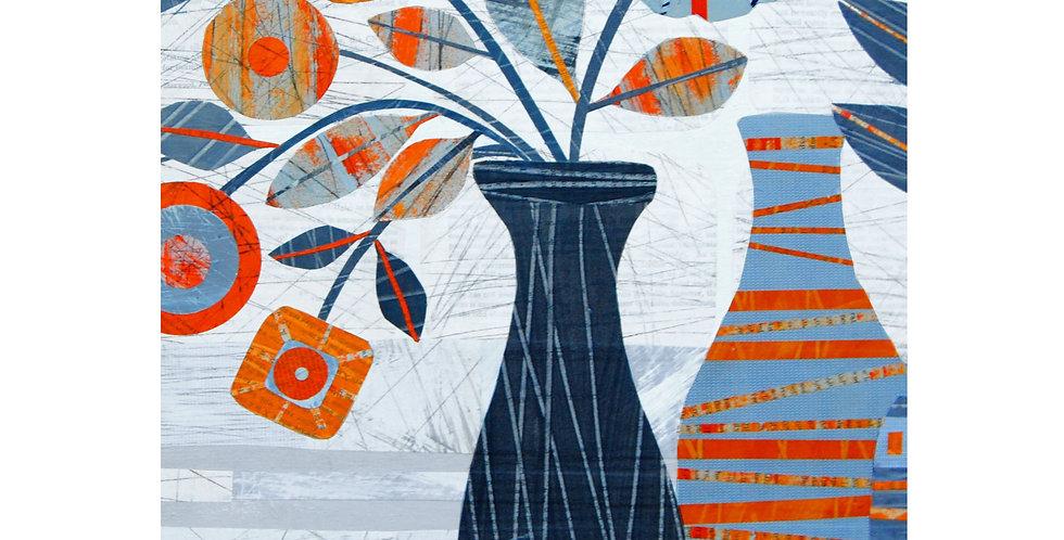 Marigold & Grey Vases card