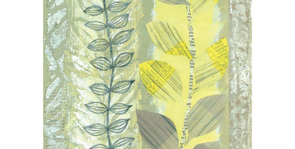 Yellow stems card