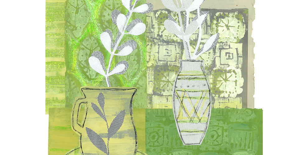 Two Vases card