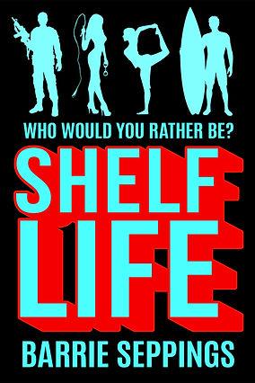 ShelfLife, fiction, novel, paperback, Seppings, author