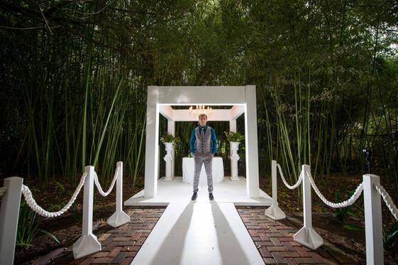Artistic wedding photography