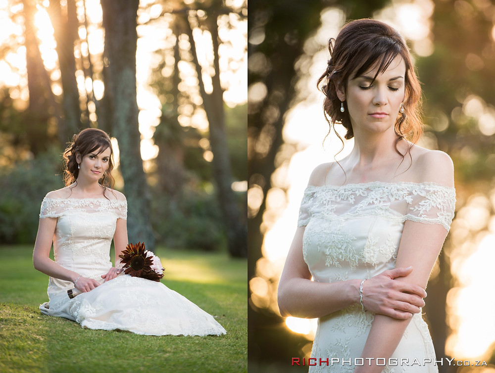 bridal portraits by Rich Photography