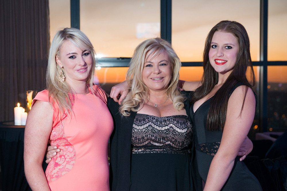 Mom and her daughters