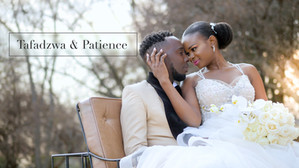 Taf and Patience got married at Oakfield Farm