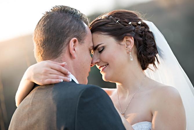 Bride and Groom at Makiti